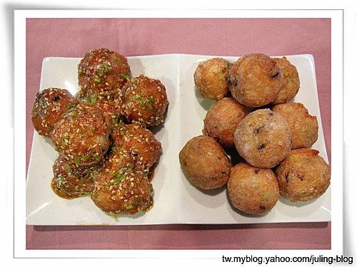 素土司芋頭丸兩吃(椒鹽&椰香芝麻)