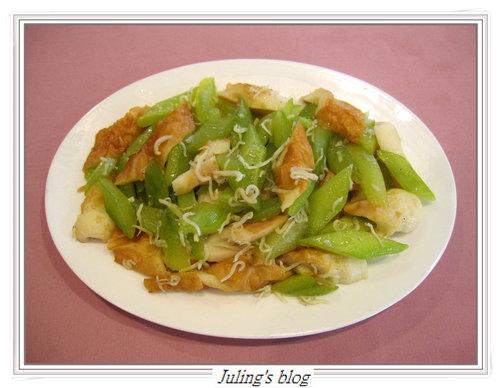 竹輪炒黃瓜
