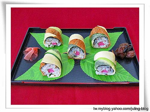 五彩壽司捲