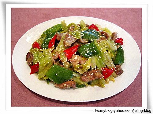 芝麻味噌高麗菜