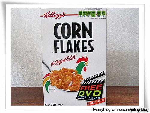 玉米脆片(corn flakes)