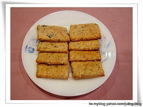 芝麻海苔肉鬆餅乾11