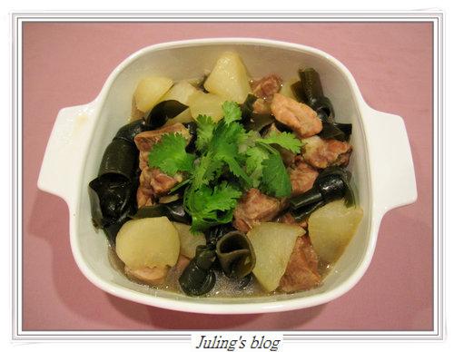 昆布蘿蔔豬肉鍋