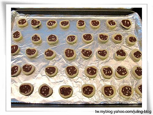 雙色杏仁巧克力餅乾16