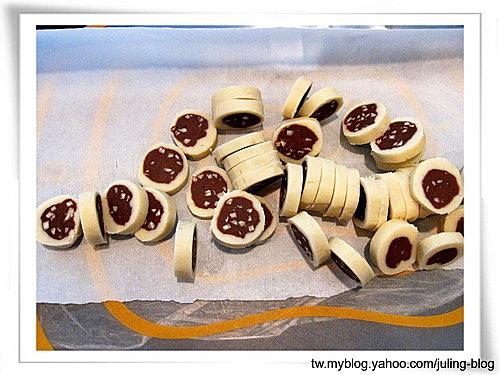 雙色杏仁巧克力餅乾15