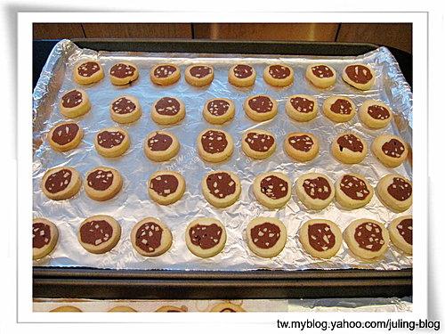 雙色杏仁巧克力餅乾17