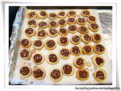 雙色杏仁巧克力餅乾18