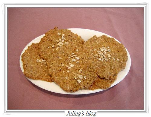 核桃燕麥脆餅8