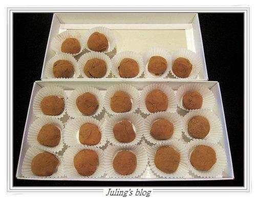 乳酪巧克力球10