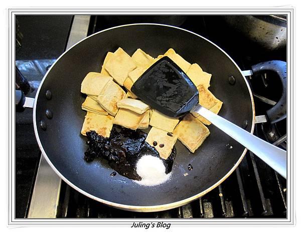回鍋素肉做法4