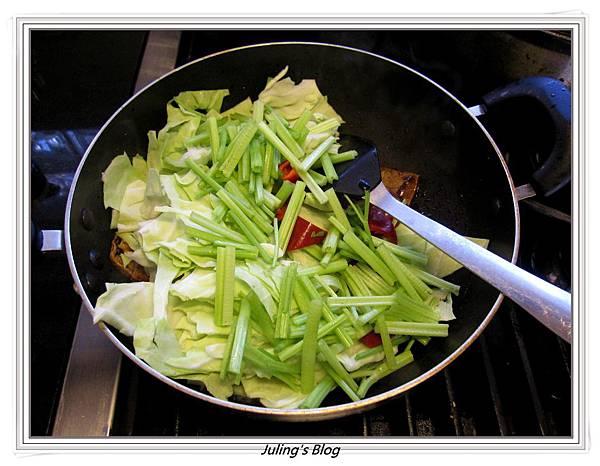 回鍋素肉做法6