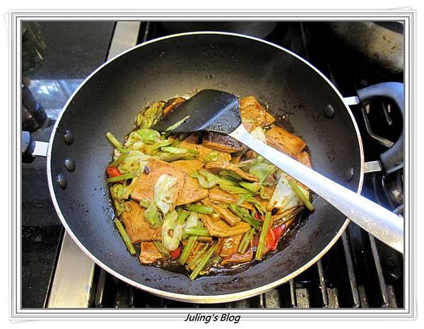 回鍋素肉做法7