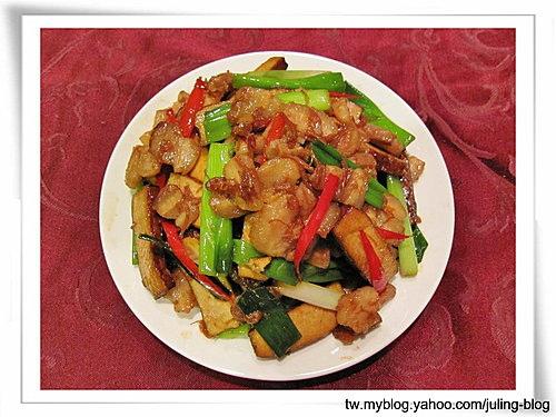 XO醬炒五花肉豆干