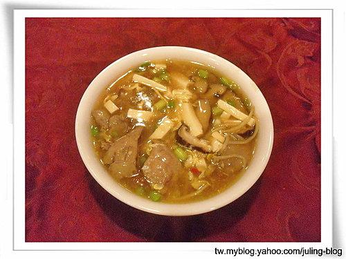 雞肝豆腐羹