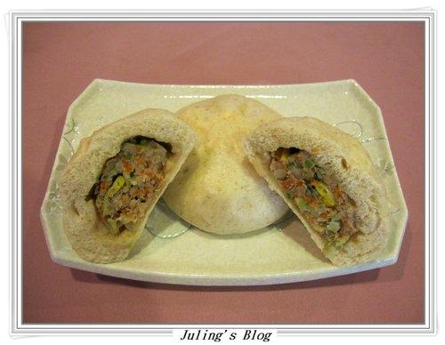 什錦菜肉包子