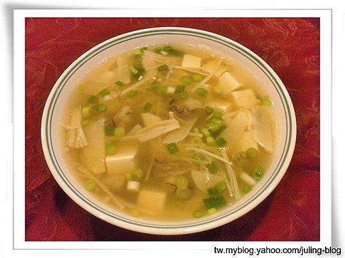 金菇蚵仔湯