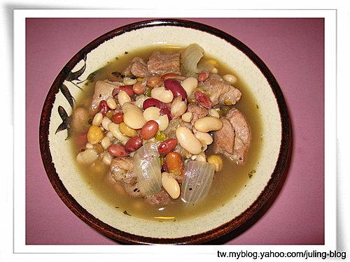 豬肉燉什錦豆湯