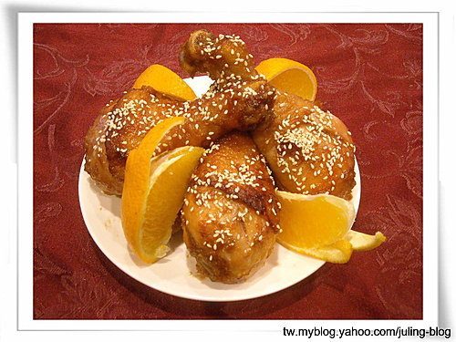 蜜汁醬燒雞腿