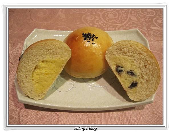 雙味奶酥麵包1