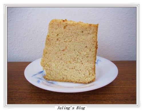 紅麴蜂蜜戚風蛋糕