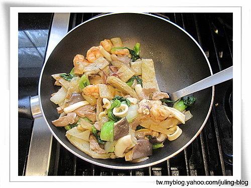 海鮮炒餅11