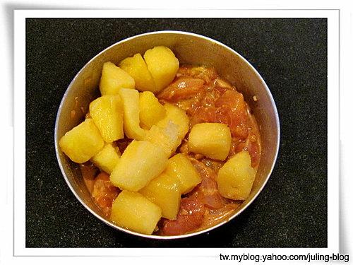 鳳梨咖哩雞肉串2