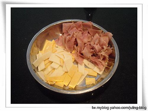 火腿乳酪湯種土司5