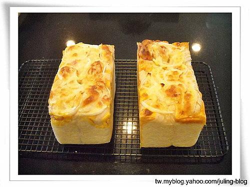 火腿乳酪湯種土司14
