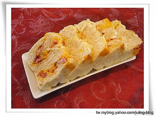 火腿乳酪湯種土司15