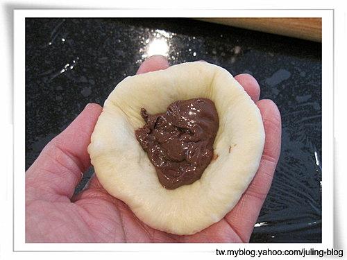 巧克力螺旋捲&巧克力花生醬麵包10