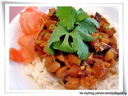 香菇麵腸素肉燥