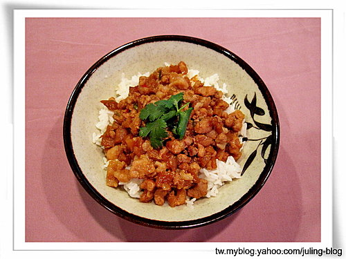 蘿蔔乾肉燥飯
