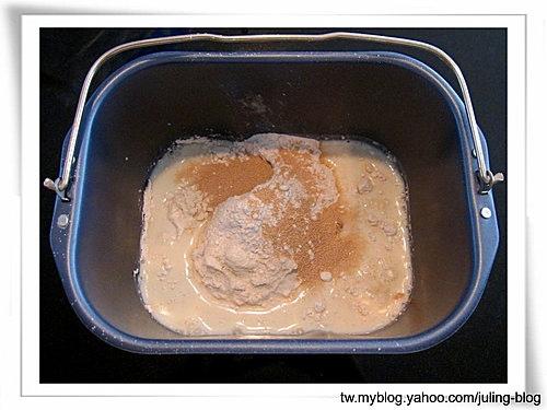 聖誕樹煉乳麵包捲1