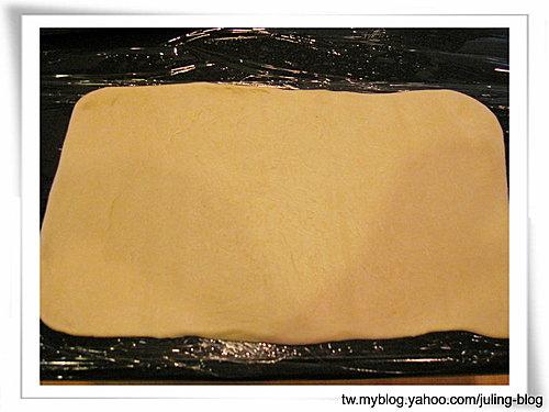 聖誕樹煉乳麵包捲8