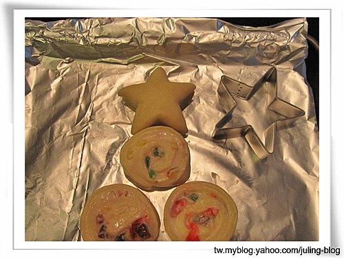 聖誕樹煉乳麵包捲14
