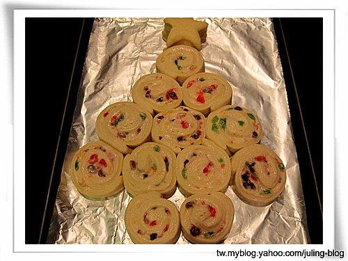 聖誕樹煉乳麵包捲16