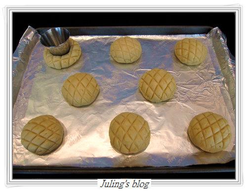 菠蘿布丁麵包12