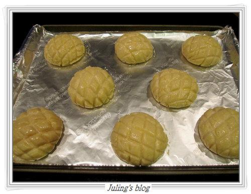 菠蘿布丁麵包16