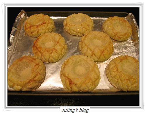 菠蘿布丁麵包18