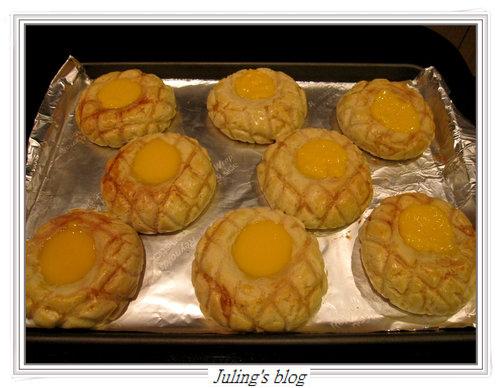 菠蘿布丁麵包20