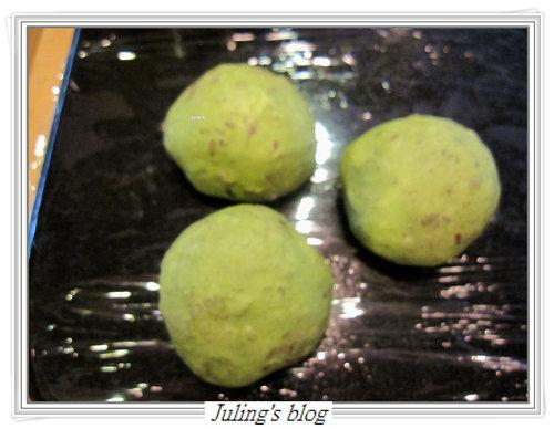 抹茶紅豆土司9