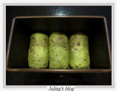 抹茶紅豆土司11