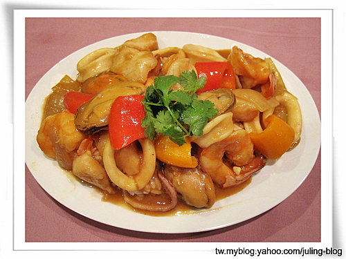 海鮮咖哩飯