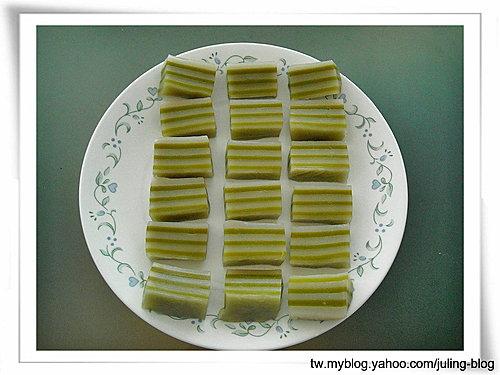 綠茶椰子糕