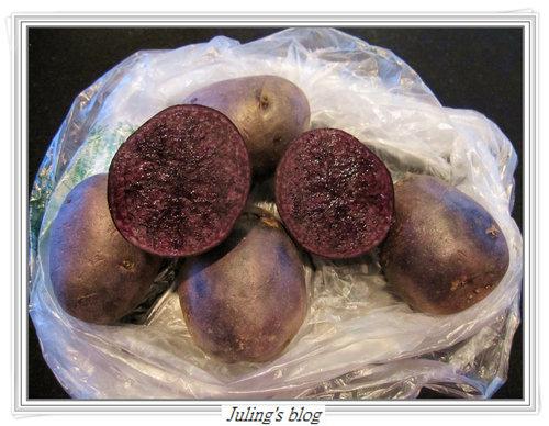 紫色馬鈴薯