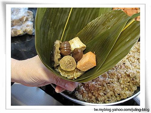 五穀養生素粽16