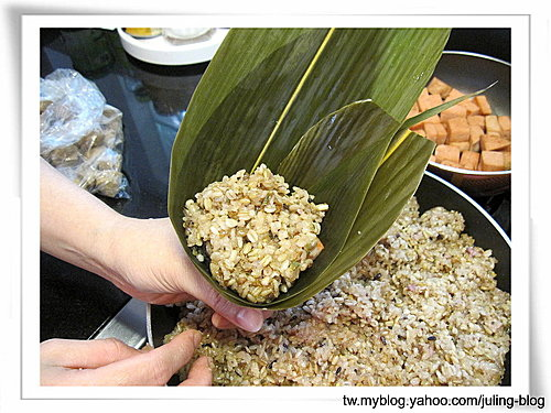 五穀養生素粽17