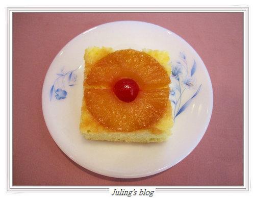 鳳梨翻轉蛋糕(pineapple upsidedown cake).jpg