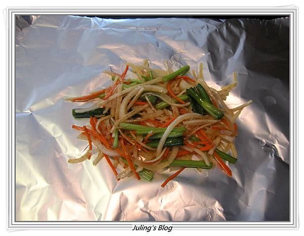 大頭菜紙包魚做法3.JPG
