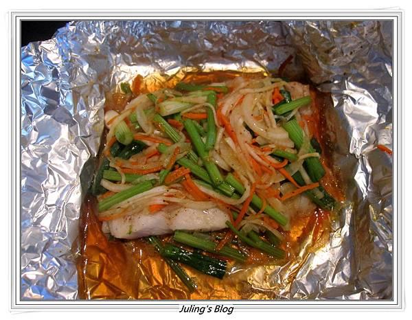大頭菜紙包魚做法7.JPG